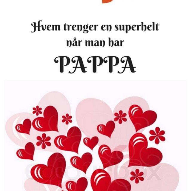 b010ed30 Pappa postkort - Kafe Leóns hjerterom